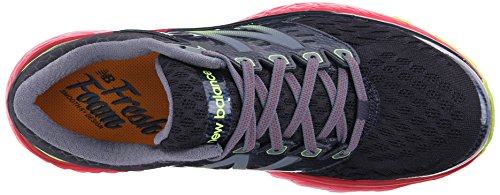 New Balance W1080V6, Chaussures de Running Entrainement Homme Noir (Black/Red/Silver)