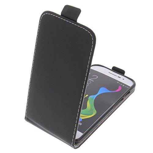 foto-kontor Tasche für coolpad Porto Smartphone Flipstyle Schutz Hülle schwarz