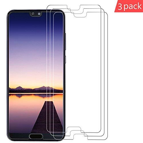 (3Stück)Huawei P20 Pro Schutzfolie, Vicksongs [Ultra Clear] Displayschutzfolie (Nicht Glas) PET Soft Displayschutz [Anti-Bläschen][Anti-Kratzen] Displayfolie Folie Screen Protector für Huawei P20 Pro (P20 Pro)