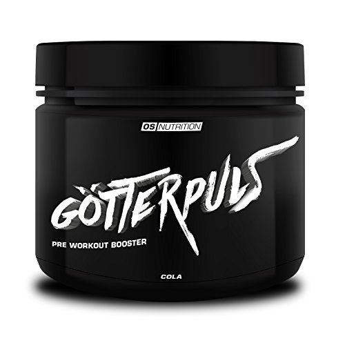 Pre Workout Booster Götterpuls – OS NUTRITION Cola 308g – made in Germany (Booster-formel)