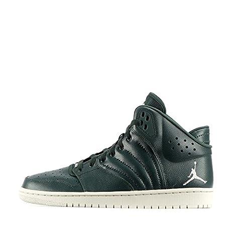 Nike Jordan 1 Flight 4, Chaussures de Basketball homme - vert - Grove Green/Light Bone,