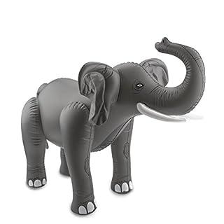 Aufblasbarer Elefant Safari-Dschungel-Motto-Party-Deko Aufblastier Palandi®