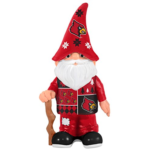Forever Collectibles NCAA Louisville Cardinals Echt Ugly Pullover GNOME–Busy Block, rot