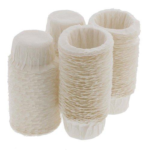 cA0boluoC Kaffeefilter-Papier, Einweg-Papierfilter, Ersatz-Kaffeefilter, 100 Stück multi - Karaffe Keurig Filter