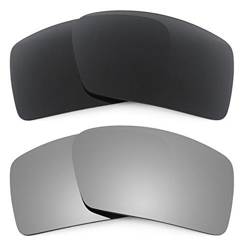 Revant Ersatzlinsen für Oakley Eyepatch 1 Polarisiert 2 Paar Kombipack K001