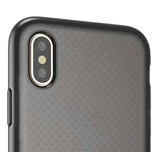 Hosaire 1x Handyhülle Schalen für Apple iphone X Phone Case Neue Apple Telefon Fall Schutzhülle Phone Back Cover Shell Schwarz