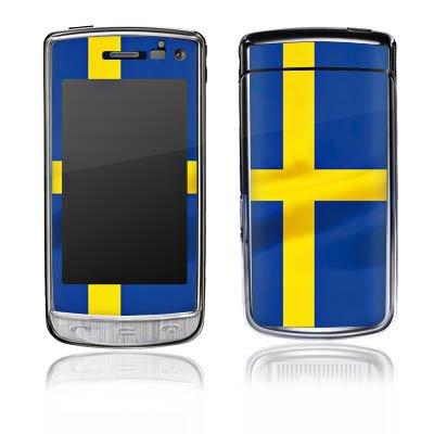 DeinDesign LG GD900 Crystal Case Skin Sticker aus Vinyl-Folie Aufkleber Schweden Flagge Sweden -