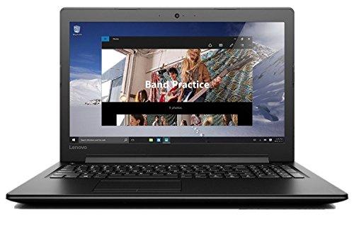 Lenovo IdeaPad 310 15.6-Inch Notebook - (Black) (Intel Core i7-7500U, 8 GB RAM, 1 TB HDD, Windows 10)