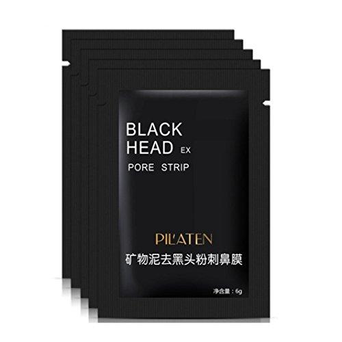 Coolster 3pcs Haut Detox - Gesichtsmaske: Blackhead Remover Akne Saubere Reinigung Tiefenreinigung Peel Maske Für Alle Hauttypen (Haare Ab Gesichts-haar-remover)