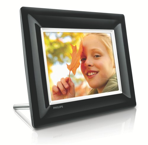 "Philips 8FF3FPB Digitaler Bilderrahmen (8"" Display) schwarz"
