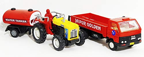 JRPT Tractor with Tanker-DCM Open Truck Color May Vary As Per Availability