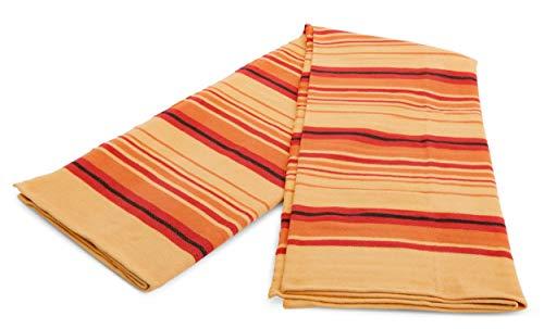 nd Decke aus Baumwollmischgewebe, atmungsaktiv und weich 60Wx80L Sunset ()