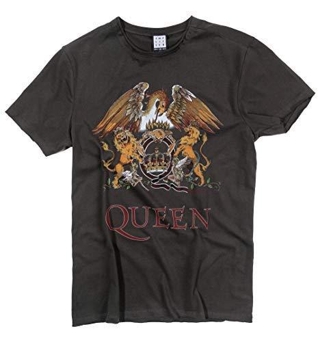 Amplified Shirt Queen Royal Crest, Grau, XXL