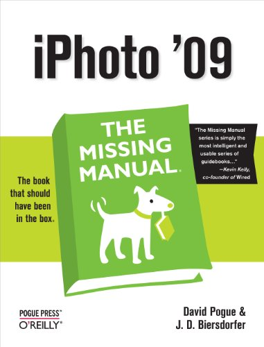iPhoto '09: The Missing - Manual Ios 8 Missing