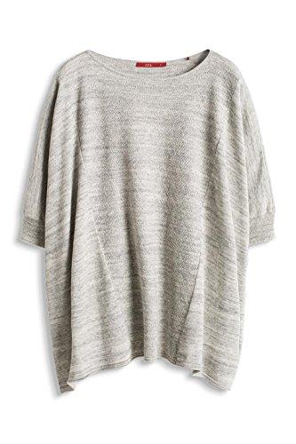 edc by Esprit 016cc1i013 - Poncho Style - Pull - Femme Noir - Noir (001)