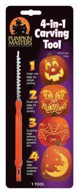 Pumpkin Masters 4-in-1 Pumpkin Carving Tool by Pumpkin Masters