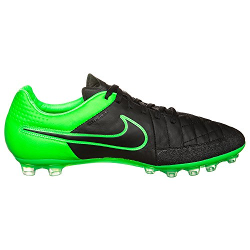 Nike Tiempo Legend V Ag-r, Scarpe da Calcio Uomo black/black-green strike-green strike