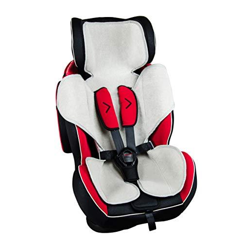 Babysanity materassino copri seggiolino rivestimento traspirante universale 9-36 15-36 Kg compatibile dinamyk foppapedretti e altri modelli in commercio