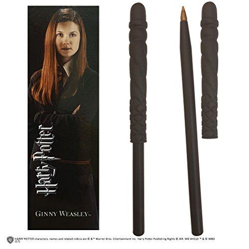 La nobile collezione Harry Potter penna e segnalibro di Ginny Weasley,