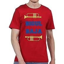Ruffty Cricket Premier League Tees- Bigul Baja - Unisex Cotton T Shirt