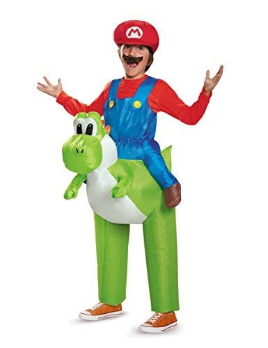 ares Nintendo Yoshi Kostüm für Kinder Einheitsgröße (Mario Yoshi Kostüm)