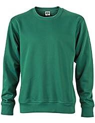 James & Nicholson Herren Workwear Sweat Sweatshirt