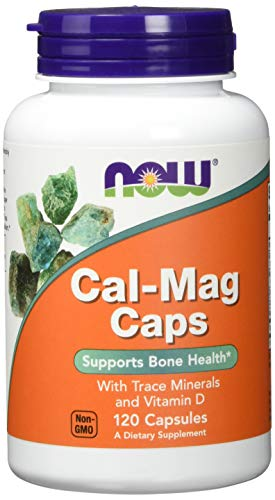 Now Foods Cal-Mag Caps Standard, 120 Kapseln -