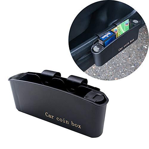 LEIWOOR Aufbewahrungsbox für Autotür, für Coche, zum Aufhängen, Mülle, Münzen, Kunststoff, Handy-Halter