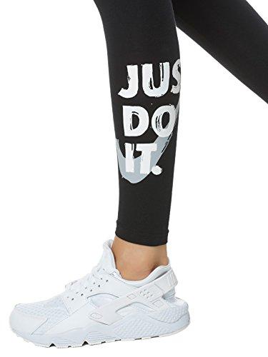 Nike W NSW lggng Club Jdi Leggings, Donna Nero (Black/Wolf Grey)