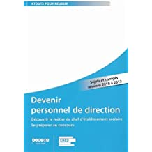 Devenir personnel de direction 2013