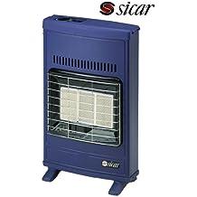 Stufa murale a gas GPL a raggi infrarossi Sicar - Mod. Eco 40 Blu