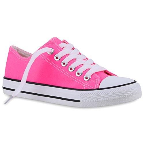 Herren Sneakers   Freizeitschuhe Sportschuhe   Schnürer Stoffschuhe  Fitness Streetstyle   viele Farben Neonpink