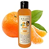 Khadi Herbal Natural Orange Peel-Off Mask for Face, Healthy and Glowing Skin