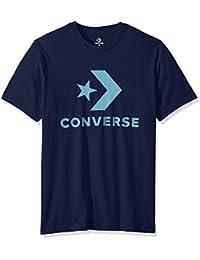 53e5934943 Converse Star Chevron Tee Obsidian – Maglietta, Uomo, Blu (Obsidian), Uomo