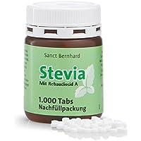 Sanct Bernhard Stevia-Tabs - Nachfüllpackung mit 1.000 Tabs