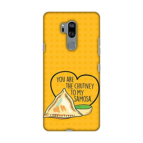 Hartschalen-Schutzhülle für LG G7, LG G7 ThinQ, Motiv You Are The Chutney HD Color, schlankes Design, handgefertigt, aufsteckbar