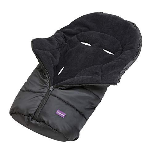 Clevamama 3605 sacco termico per seggiolino auto, nero