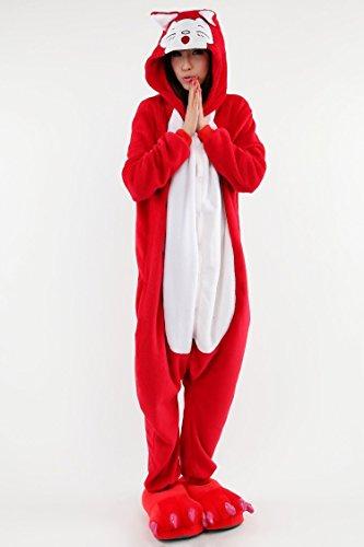 5f38a07ef Yimidear® Unisex Cálido Pijamas para Adultos Cosplay Animales de Vestuario  Ropa de dormir Halloween y Navidad - Compra pijamas y zapatillas casa
