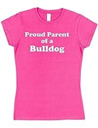 Click My Clobber Mens, T-Shirt, Proud Parent Of A Bulldog Dog