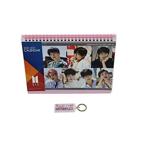 BTS Bangtan Boys Desk Calendar with Photo