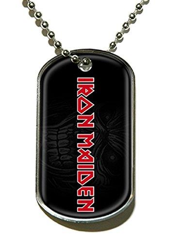 Raz Dog Tag-Iron Maiden Logo offizielles Lizenzprodukt -