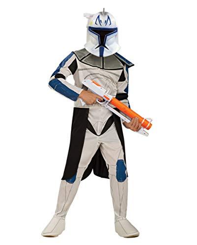 Kostüm Star Clone Wars Rex Trooper - Horror-Shop Clone Trooper Captain Rex Kinderkostüm für Fasching L