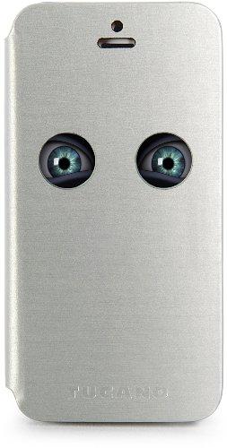 Tucano IPH5E Eyes Case für Apple iPhone 5/5S schwarz Silber