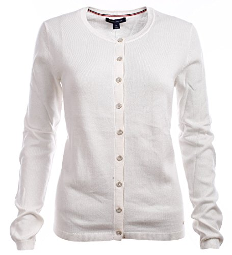 Tommy Hilfiger Damen Strickjacke, Cardigan, Sweater (XX-Large) - Frauen Tommy Strickjacke Hilfiger