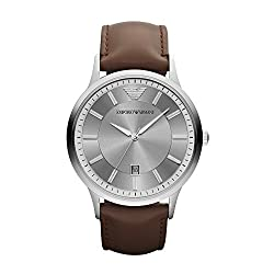 Emporio Armani Classic Analogue Silver Dial Men's Watch - AR2463