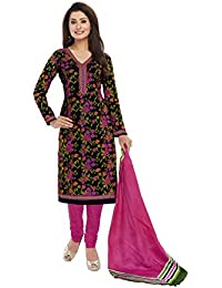 ZAFFAZ Unstitched Cotton Dress Material Free Size and Delivery SD2204