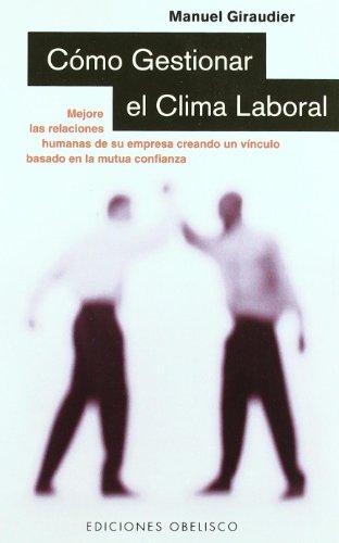 Libro clima laboral: Confianza mutua