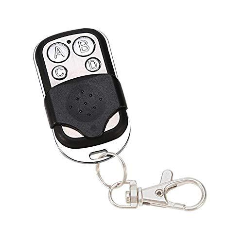 Rvest Universal 433 MHz Auto Fernsteuerungsschlüssel, 4 Kanal Garage Auto Torantrieb Automatische Türöffner Motorisierung Alarm, Automatische Türöffner Batterien 27a 12v Alarm