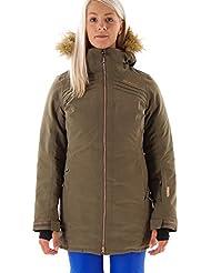 Brunotti Chaqueta de esquí snowboard Chaqueta Chaqueta de nieve jascoli verde transpirable, color caqui, tamaño M