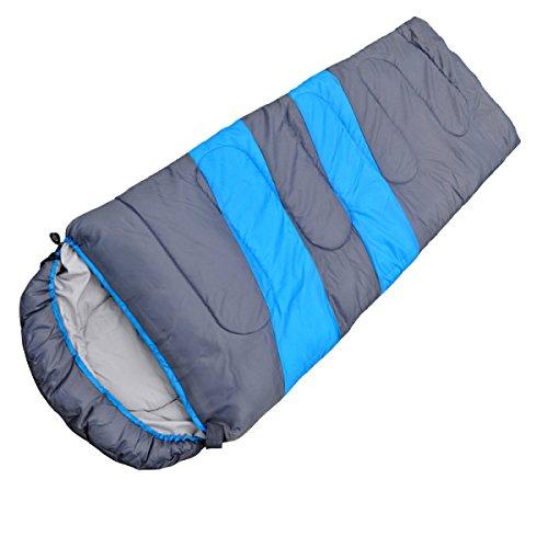 Yy.f Ferien Leichte Schlafsäcke Wandern Camping Ultraleichte Kompakte Taschen Tragen Taschen Heizung Schlafsack Als Decke Oder Isomatte Multicolor,LightBlue-(190+30)*75cm(1.5kg) (Kompakte Doppel-heizung)